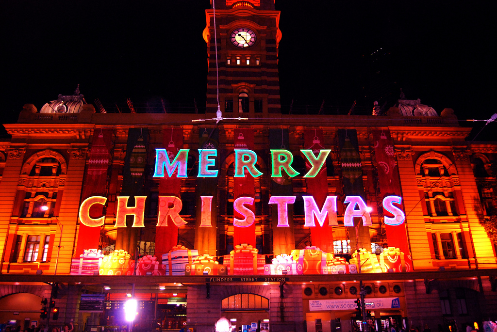 Those that find cheap accommodation in Melbourne are better able to enjoy the festive season without worry ... photo by CC user matt-davis on Flickr