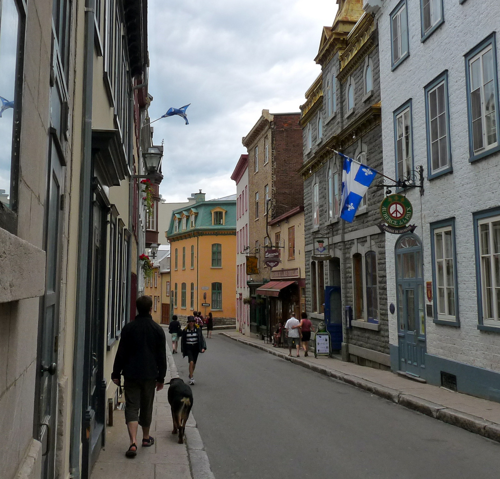 With many old structures lovingly preserved from colonial times, Quebec is North America's most European city