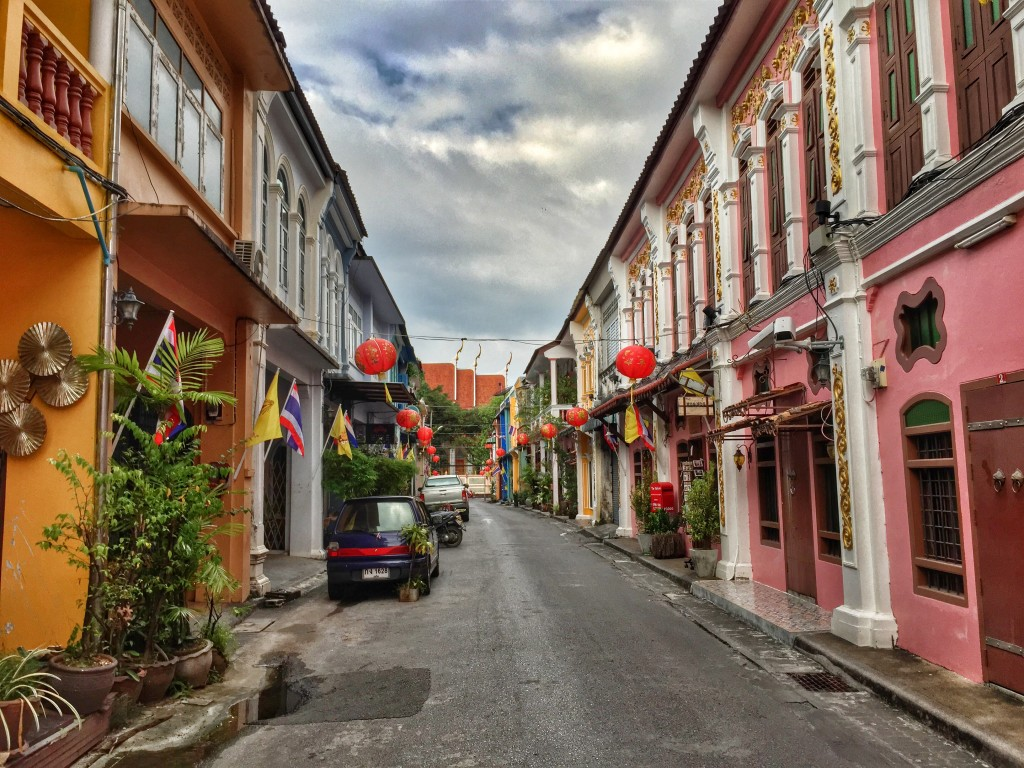 colonial architecture in Phuket Town