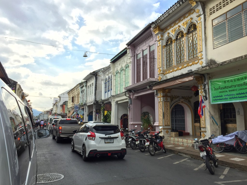 old buildings in Phuket Town