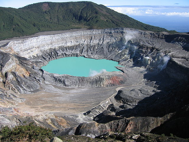 poas crater, from wikicommons