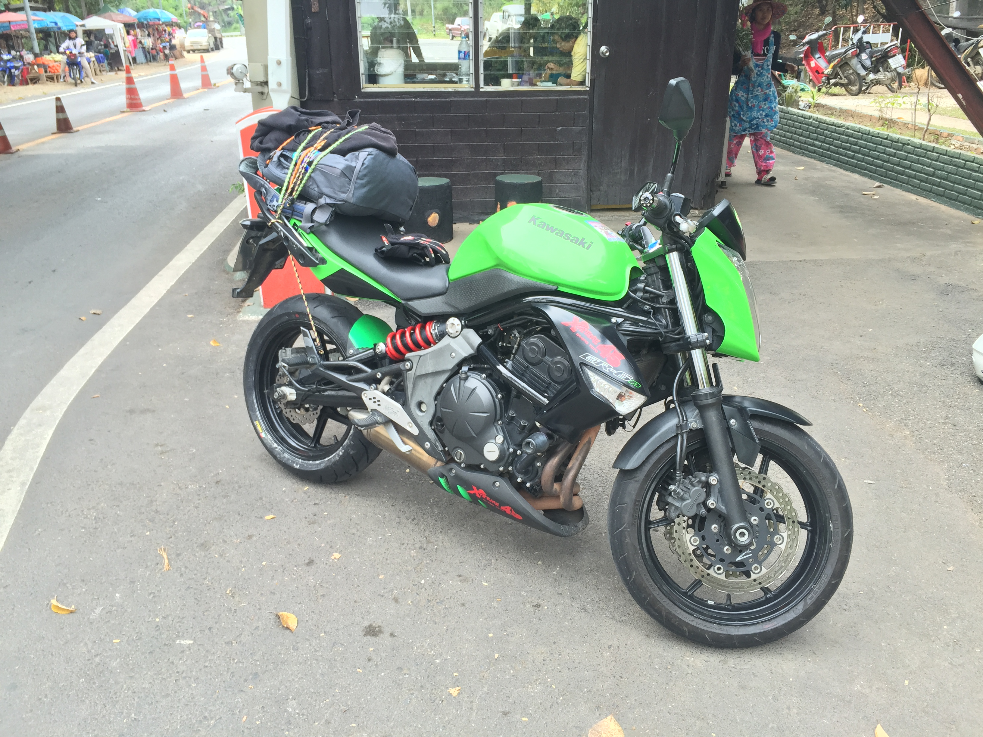 good motorcycle for the Mae Hong Son Loop