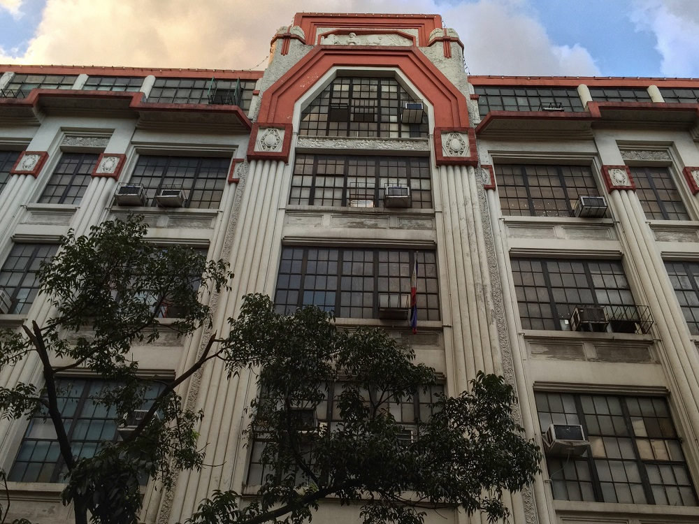art deco architecture in Manila, Binondo, Escolta