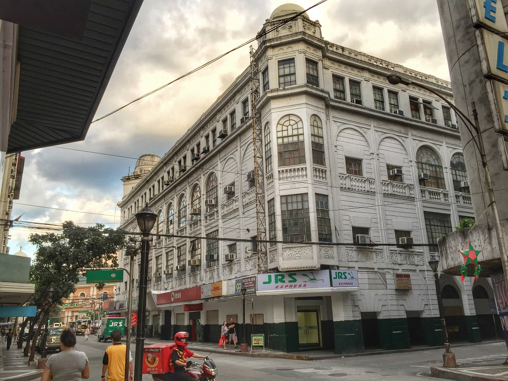 old department store on the escolta, manila