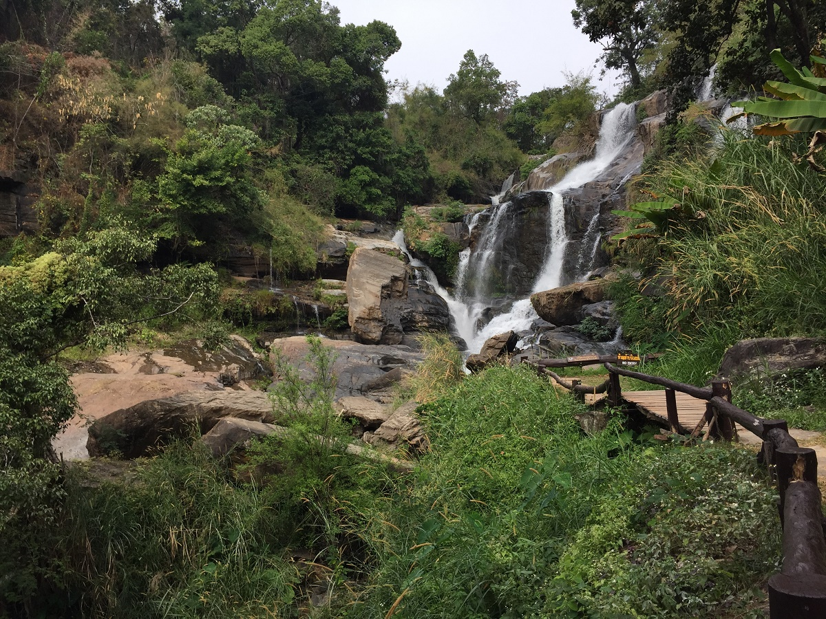 waterfall near doi inthanon