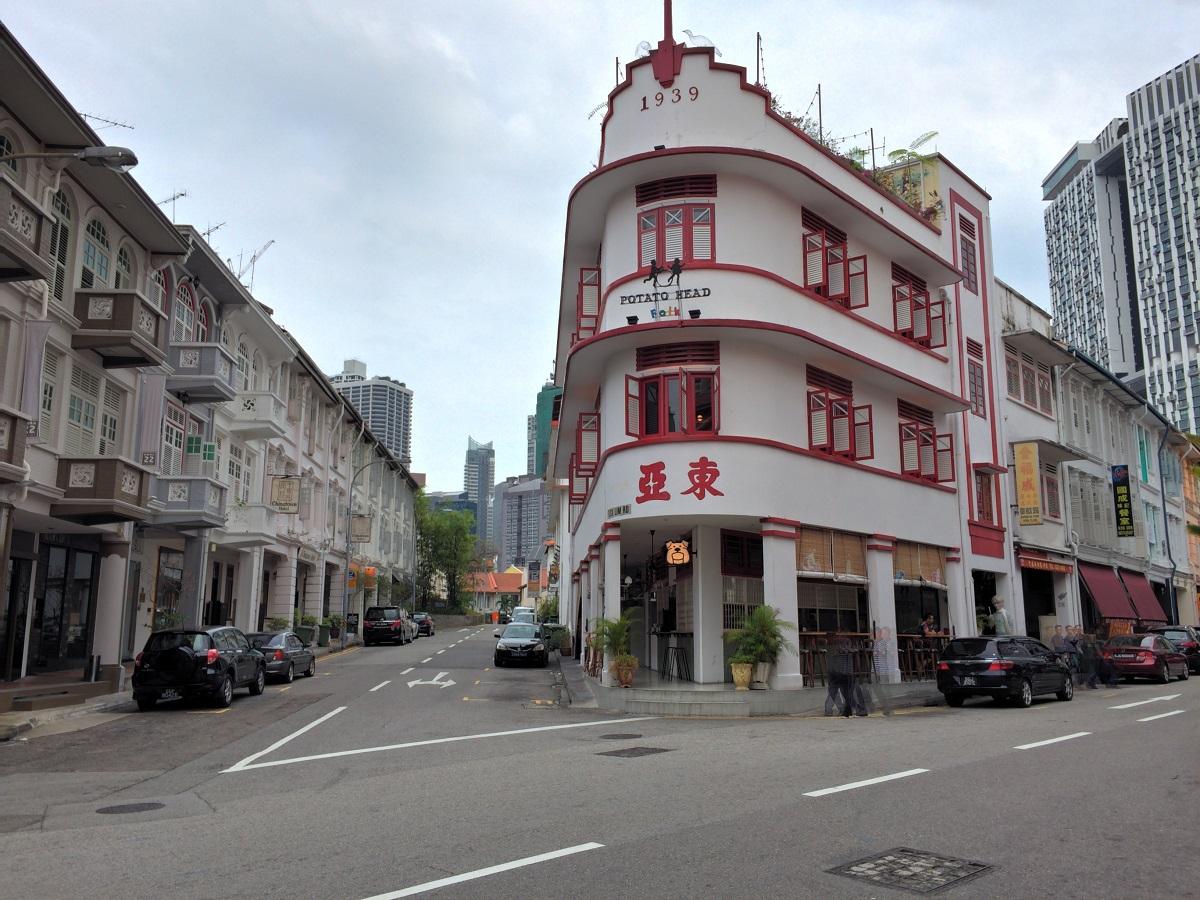 China town singapore