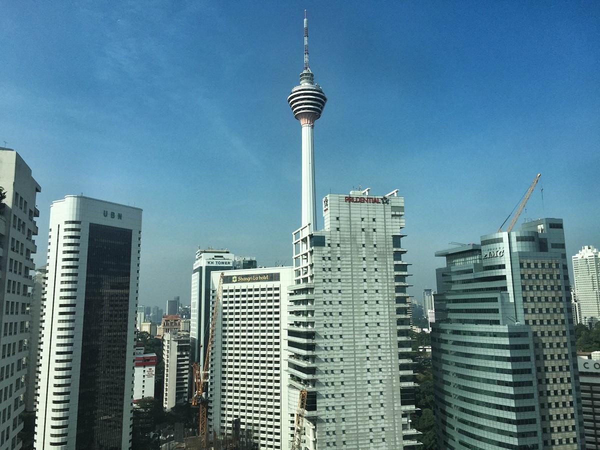 skyline in Kuala Lumpur