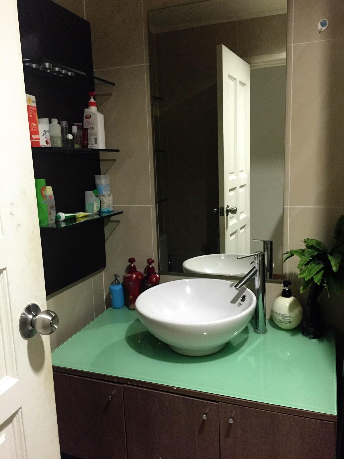 bathroom in apartment in Kuala Lumpur