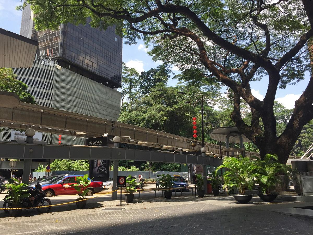 clean streets in Kuala Lumpur, Malaysia