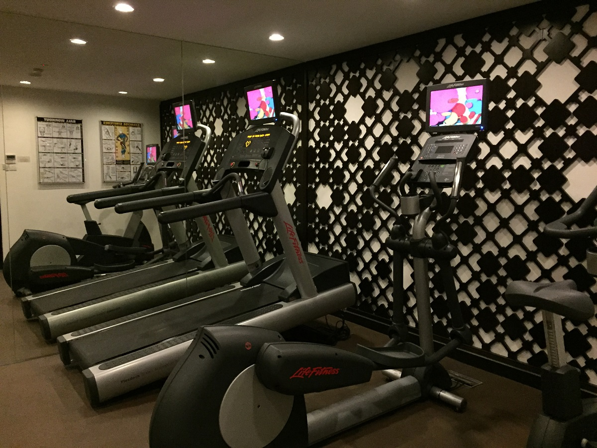 gym naumi liora hotel, singapore