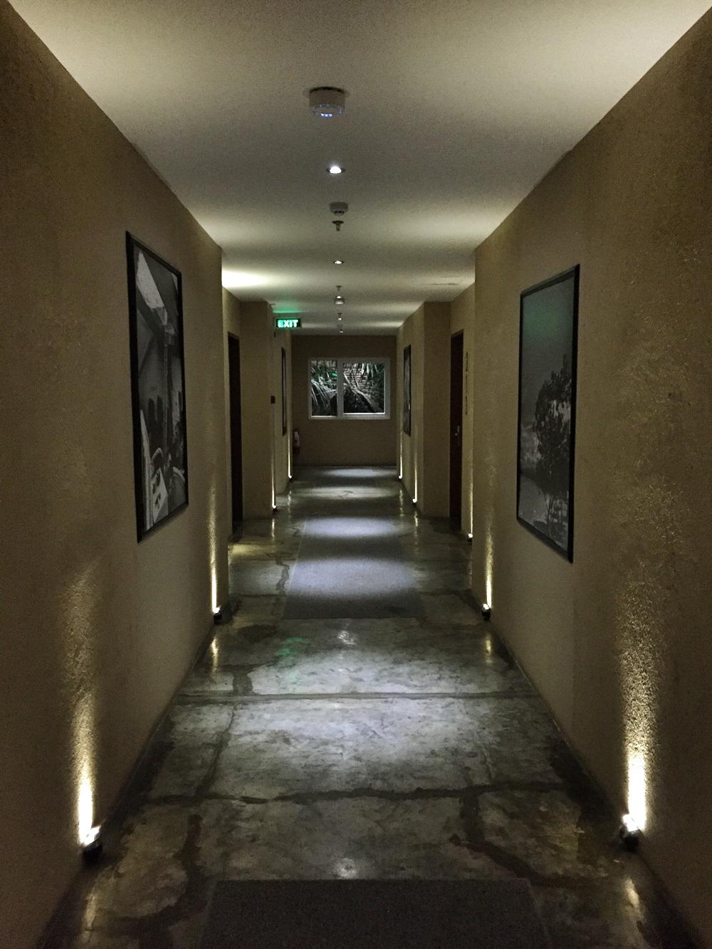 hallway at the Henry Hotel Cebu