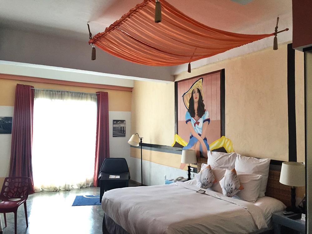 hotel room in the henry hotel, cebu