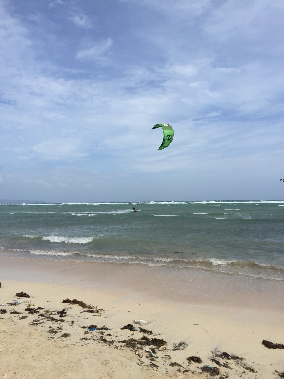 kite boarder in Boracay