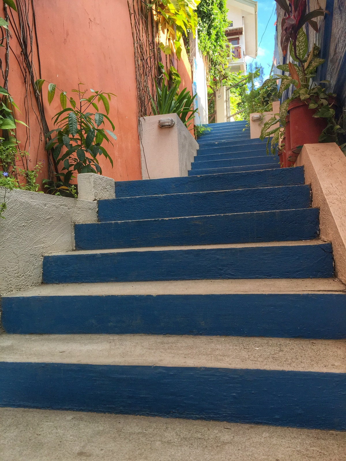 stairs at Agos Rooms + Beds in Boracay