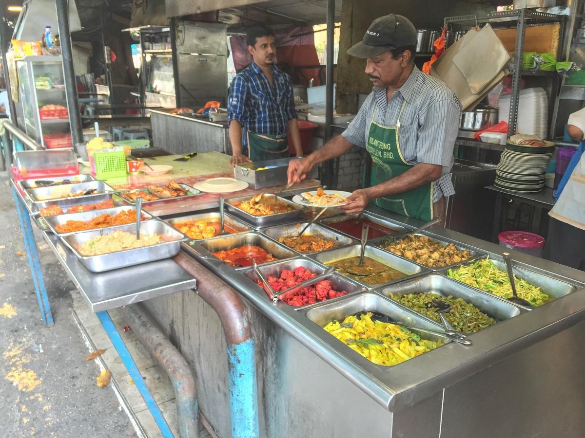 street food in Malaysia, Kuala Lumpur