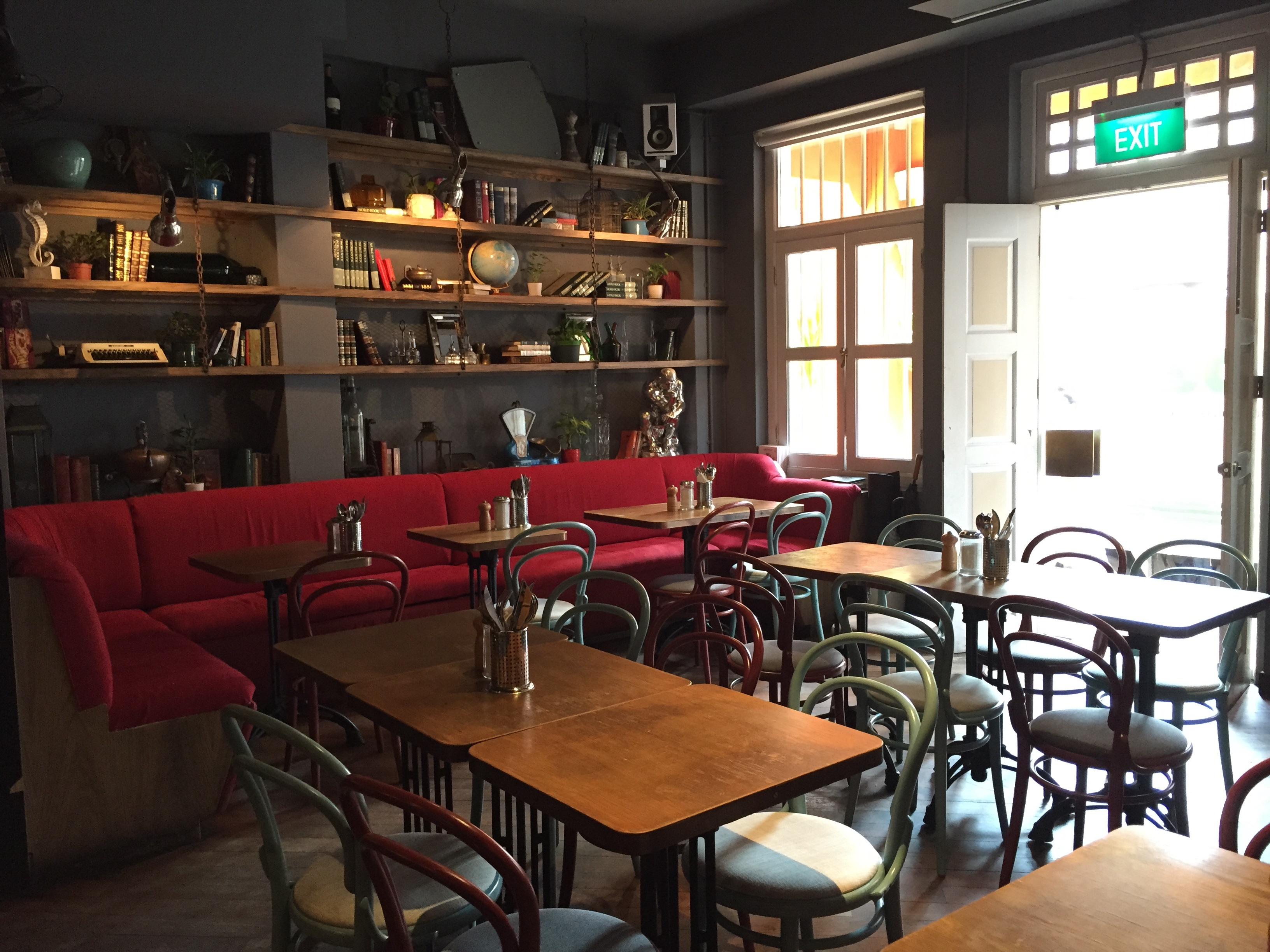 the study restaurant singapore