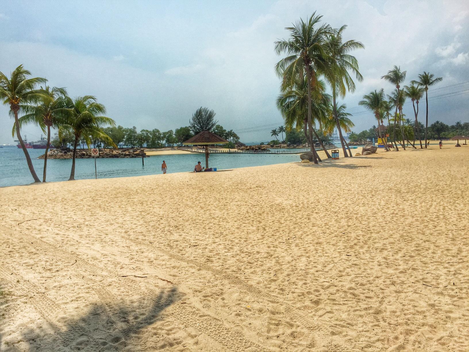 Sentosa Beach, Singapore