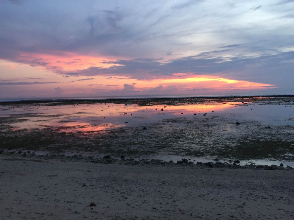 sunset in Gili Trawangan