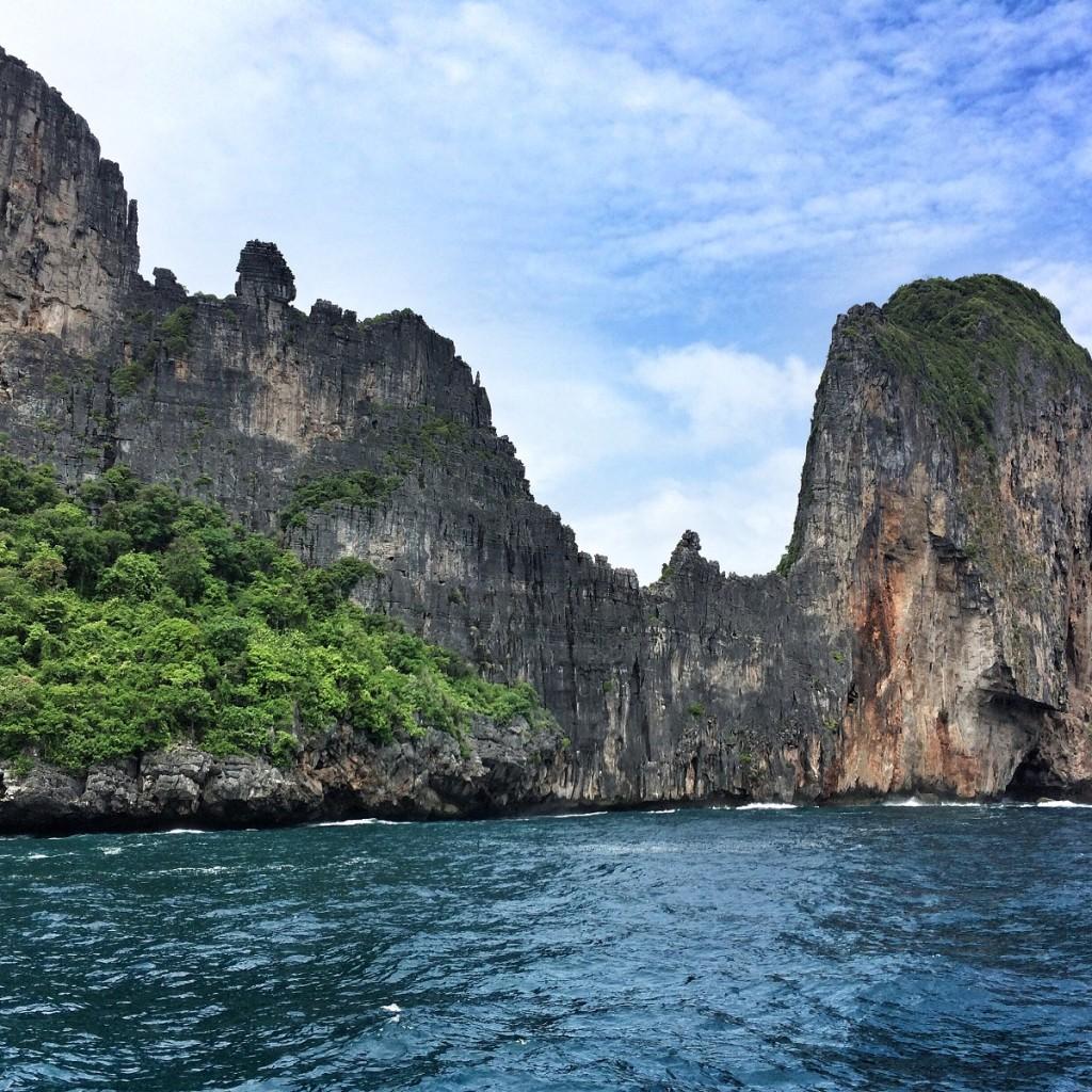 cliffs in Krabi