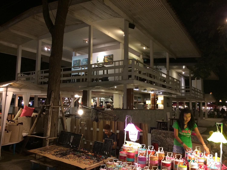 coffe shop at the Cicada Market in Hua Hin, Thailand
