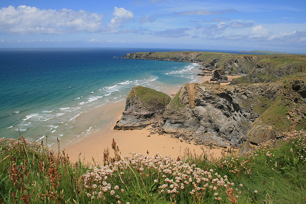 If this doesn't make your list of reasons to visit Devon and  Cornwall, we don't know what to say ... photo by CC user Dwyatt 101 on wikimedia.org