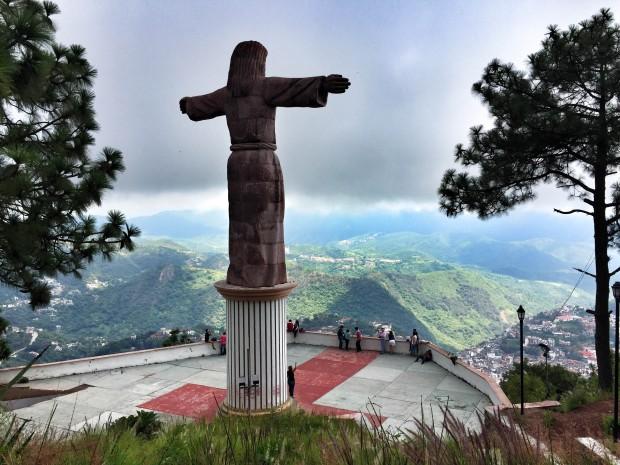 jesus statue in Taxco, Mexico