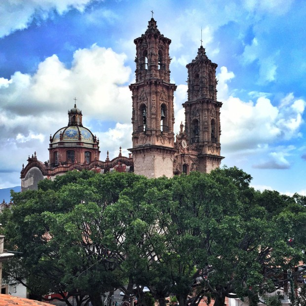 main church in Taxco