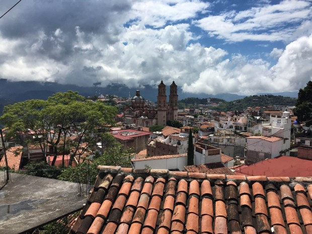 view of Taxco, Mexico