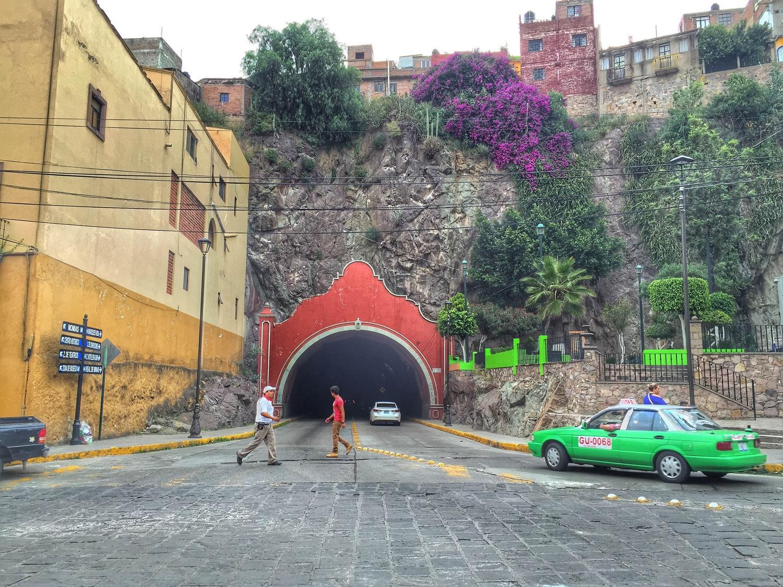 tunnels in guanajuato