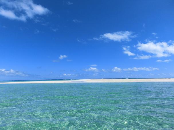 beach on Kume island, okinawa