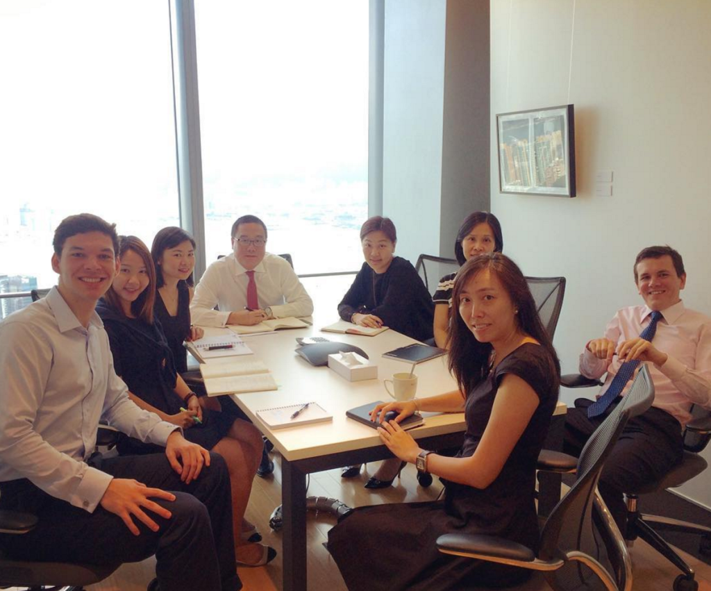 axa internship in hong kong