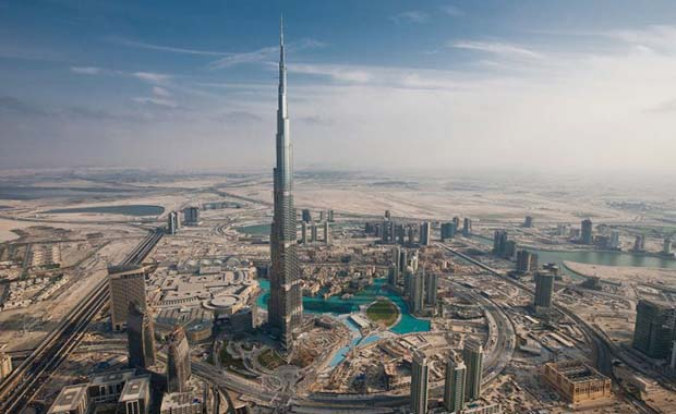 The Burj Khalifa is presently the tallest building in the world, but the Kingdom Tower will soon overtake it...