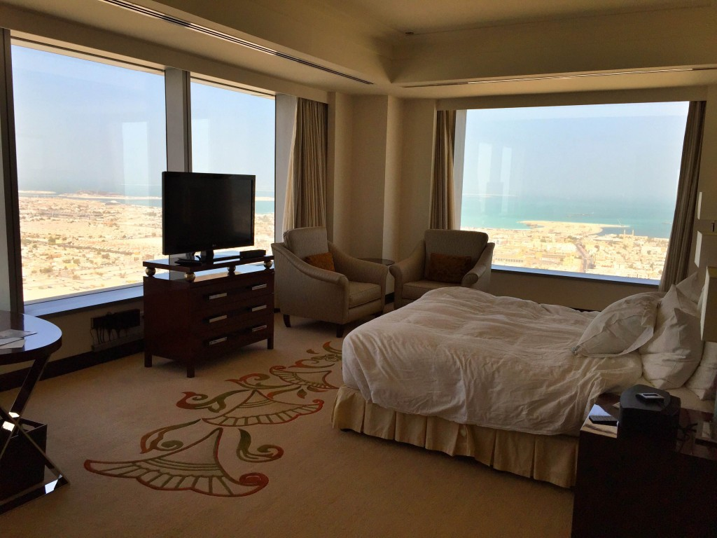 Conrad Hotel in Dubai Executive Suite Bedroom