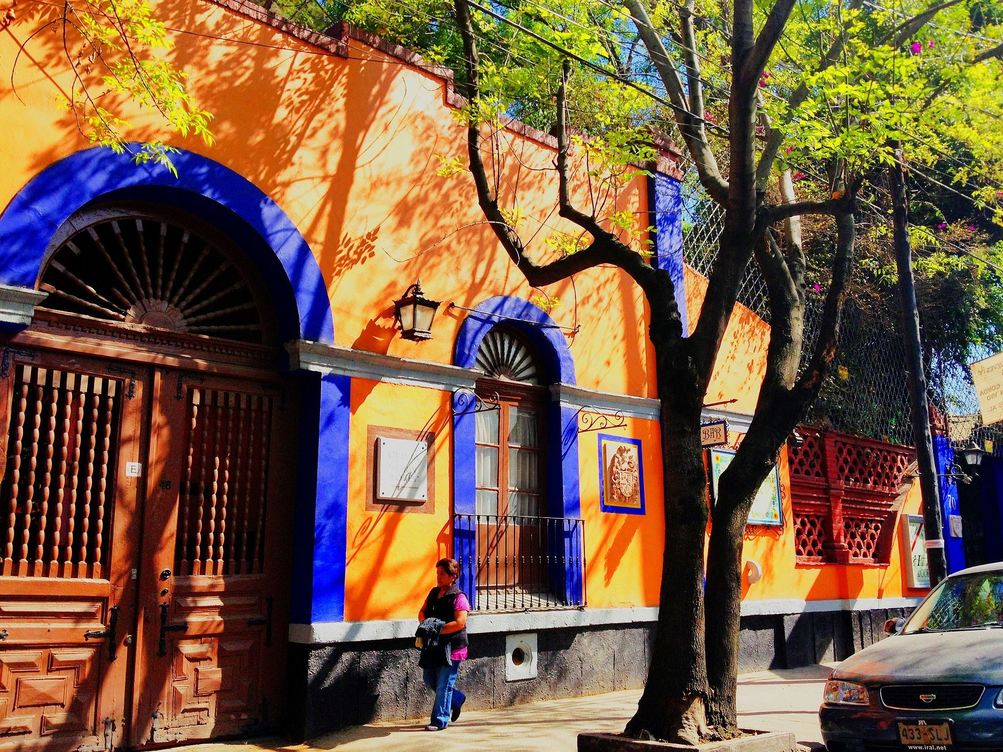 building in one of the best neighborhoods in Mexico City Coyoacan