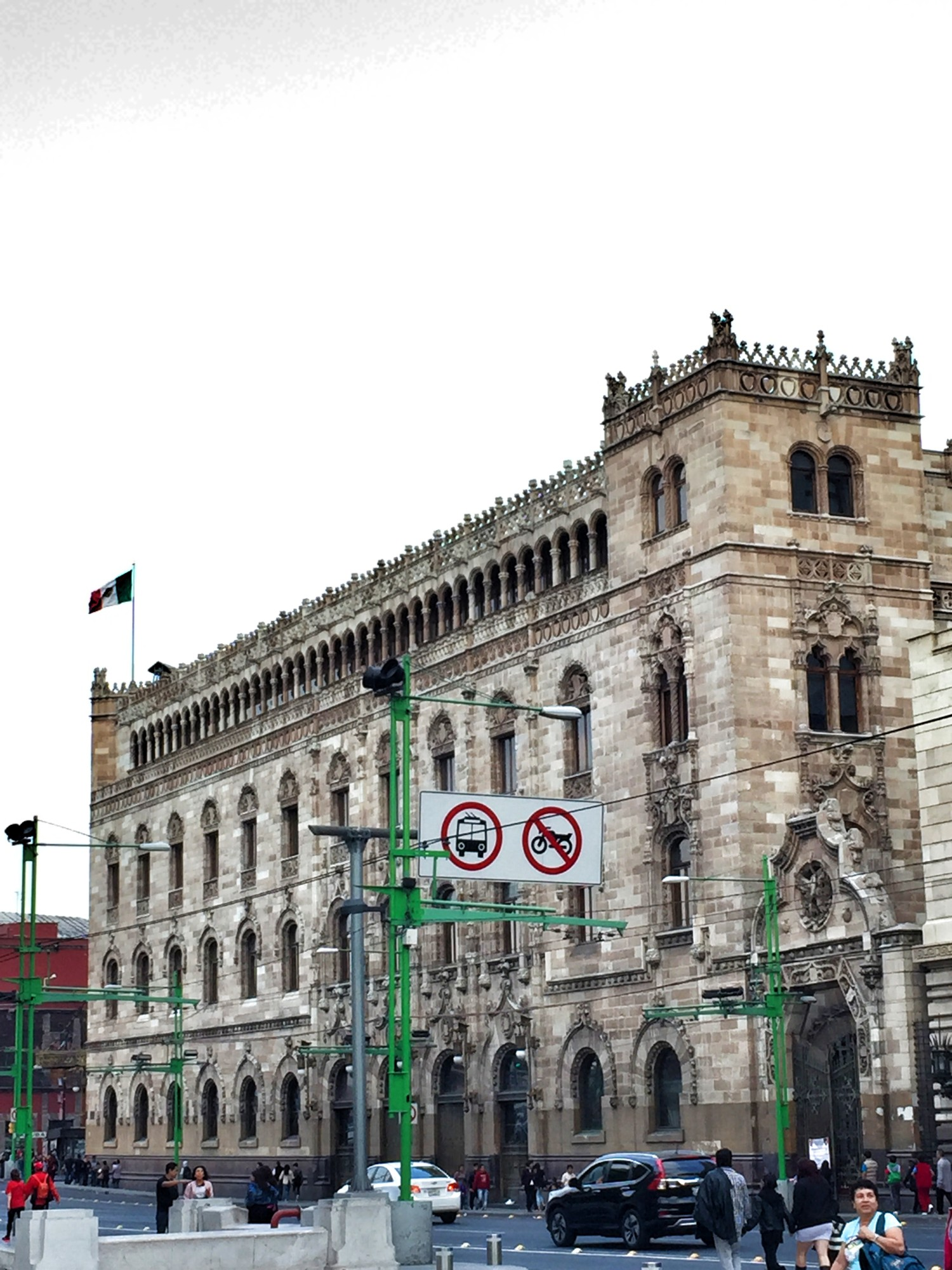 central post office Mexico City